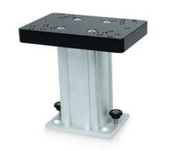 Cannon Downrigger Pedestals cannon fixed base downrigger pedestal 6 inch